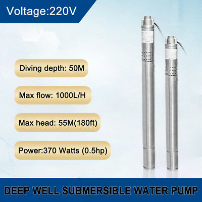 0.5 Hp Submersible Pump - New 2