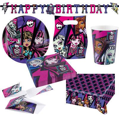 rgeburtstag Auswahl Deko Party Dekoration  (Monster High Dekoration)