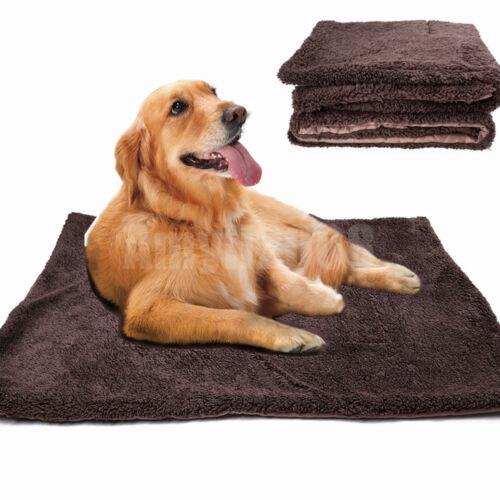 Waterproof Self Fleece Warming Pet Blanket Pad Bed Dogs Cats