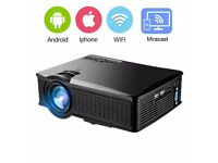 Projector DIWUER 1500 Lumens LCD Video Projector WiFi/Portable