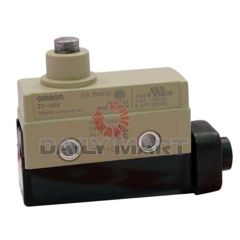 OMRON ZC-D55 ZCD55 ENCLOSED LIMIT SWITCH PIN PLUNGER PLC MODULE NEW