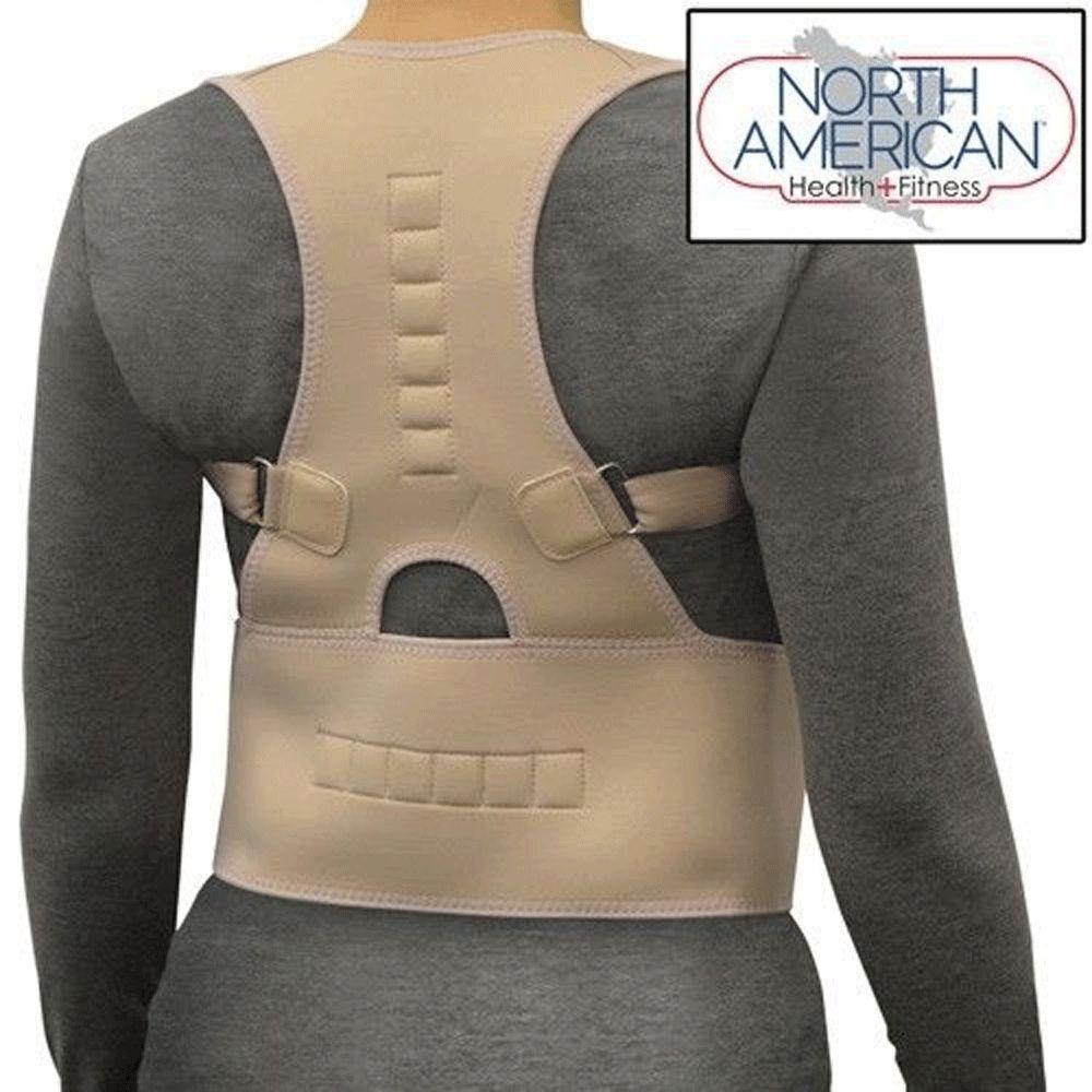 Posture Corrector Support Magnetic Back Shoulder Brace Belt