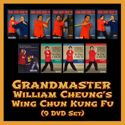 Grandmaster William Cheung's Complete Wing Chun Kung Fu (9 DVD Set)