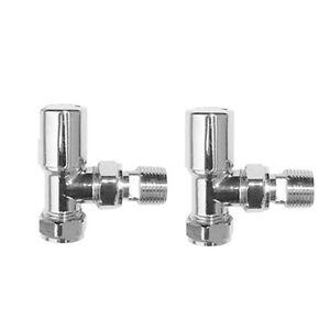 Angled-Radiator-Valves-Bathroom-Chrome-Brass-Heated-Towel-Rail-Rad-Taps-RA01A