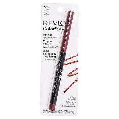 Revlon ColorStay Lip Liner with SoftFlex, Mauve [660] 1 ea