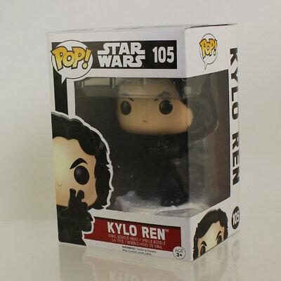 Funko POP! Star Wars The Force Awakens Figure - KYLO REN (Fighting) #105 *NM BOX