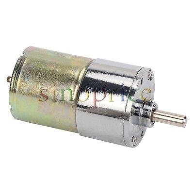 24v Dc 60rpm High Torque Gear Box Reversible Electric Motor
