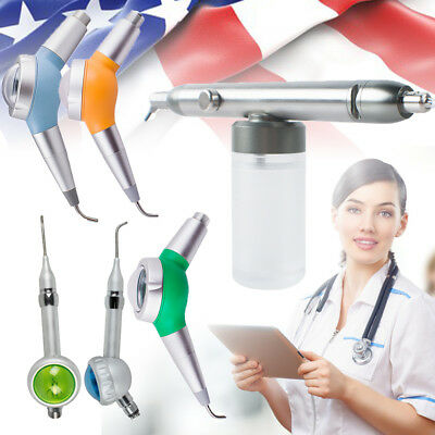 Dental Air Flow Teeth Polisher Handpiece Hygiene Prophy Jet 42hole Device Usa