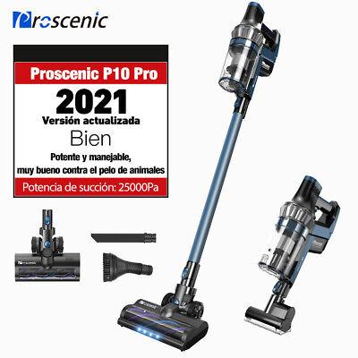Proscenic P10 Pro Aspiradora Sin Cable Mano Para Pelo Animal Escoba Eléctrica