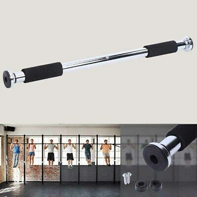 Adjustable Pull up Bar Gym Exercise Training Chin up Fitness Door Wall UK