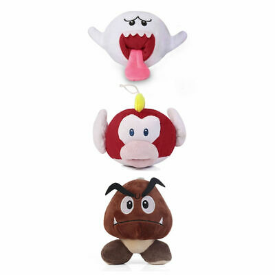 Super Mario Bros Boo Ghost Pukupuk Cheap Cheap Fish Goomba Plush Stuffed Toy  - Cheap Christmas Toys
