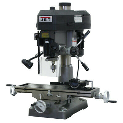 Jet Jmd-18 2 Hp 1-phase R-8 Taper Millingdrilling Machine 350018 New
