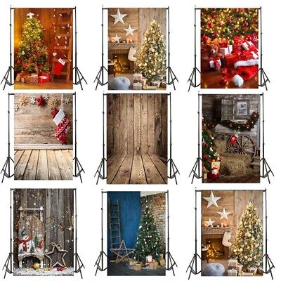 Photo Prop Backdrop (Christmas Backdrop Photo Vinyl Photography Studio Prop Celebrate Xmas)