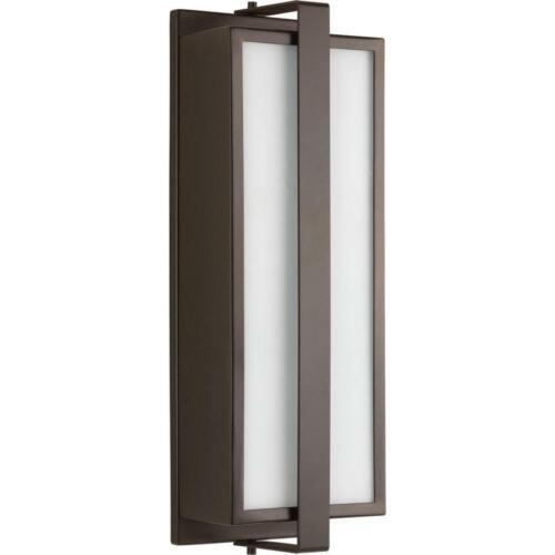 Progress L. Diverge C 2-Light Architectural Bronze 17.75 in. Outdoor Lantern