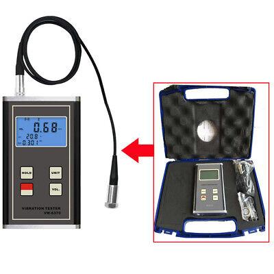 Digital Vibrometer Vibration Meter Gauge Vm6370 Imbalance Deflecting Tester