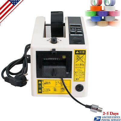 110v Electric Automatic Tape Dispensers Adhesive Tape Cutter Cutting Machine Us