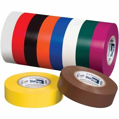 Shurtape 200783 Ev 057c Ul Listed Electrical Tape White 34in X 66ft