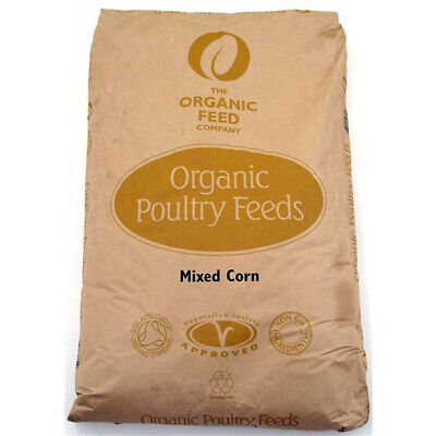 Allen & Page Organic Poultry Feed Company Mixed Corn Wheat, Maize & Soya Oil 5kg