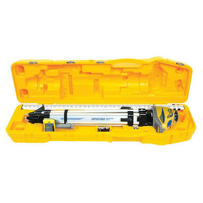 Spectra Precision Ll300n -2 Self Leveling Laser W Tripod Rod Hl450 Receiver