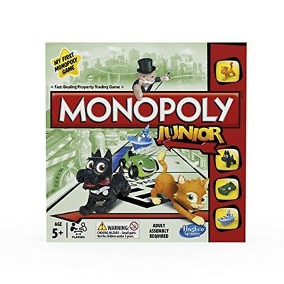 Hasbro Monopoly Junior Board Game - Half Party Ninja Turtles Shell Themed - Ninja Turtle Themed Party