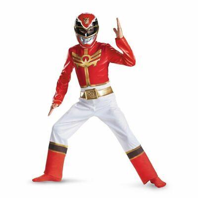 New Saban's Power Rangers MegaForce Red Ranger Child Costume Large 10-12](Power Rangers Megaforce Red Ranger Costume)