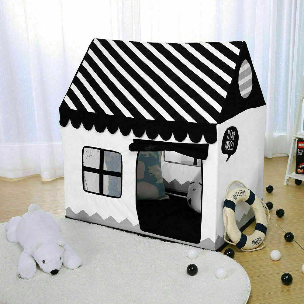 Kids Princess Prince Castle Play Tent Cute Playhouse Childre