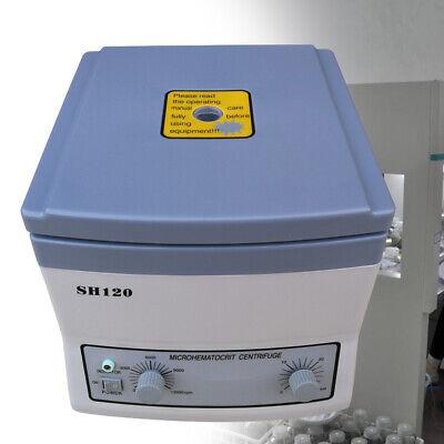 High Speed Micro-hematocrit Centrifuge Machine Medical Beauty Blood Centrifuge