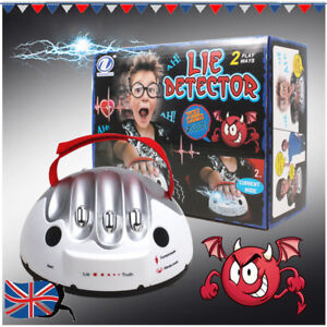 Micro Polygraph Shocking Liar Micro Electric Shock Lie Detector Test Truth Game