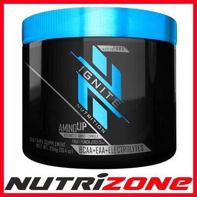IGNITE NUTRITION AMINO UP Advanced Amino Acid Formula BCAA EAA Electrolyte 294g