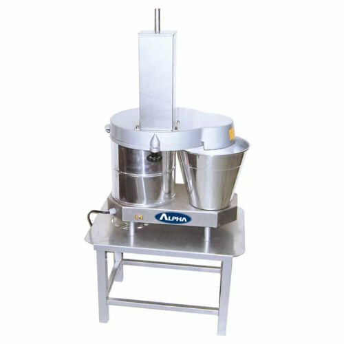 """Alpha Commercial Continuous Feed Cheese Block Shredder w/ 3/16"""" Disk, 110V"""