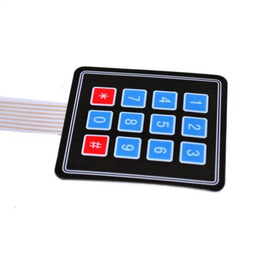Keypad Folientastatur 16 Tasten Arduino Tastatur Raspberry 4×4 Matrix Array