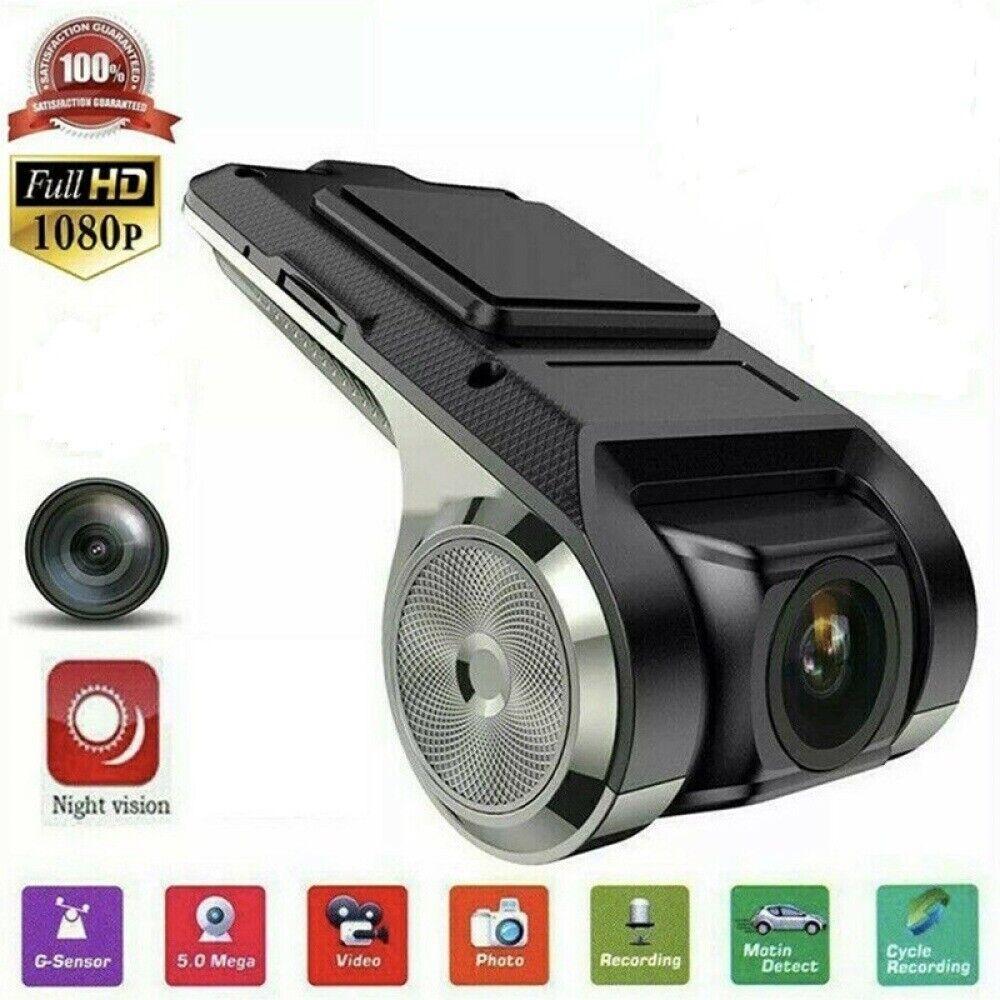 HD Dash Cam Car DVR Video Surveillance ADAS Dashcam Night Ve