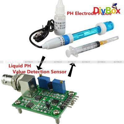 Aquarium Hydroponic Ph Electrode Probeliquid Ph Value Detection Sensor
