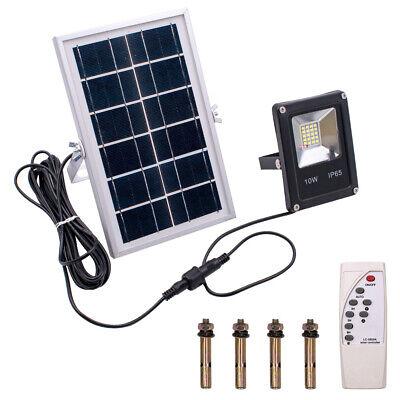 LED Solar Luz de Pared Movimiento PIR Sensor Lámpara Jardín IP66+ Control...
