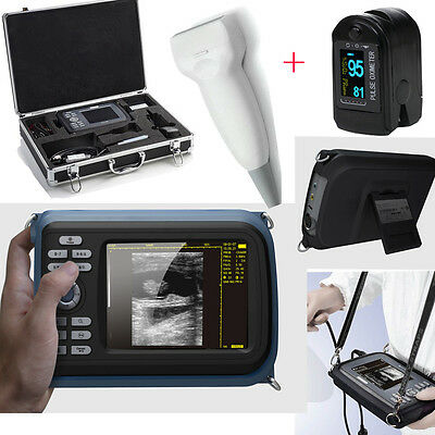 Usa Portable Handheld Digital Ultrasound Scanner Machine Linear Probe Oximeter