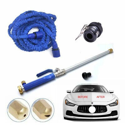 High Pressure Power Car Washer Spray Water Gun with Nozzle Hose Tips Tool