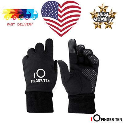 Winter Gloves Kids Childrens 1 Pair Black Warm Water Resist Thinsulate Lined 3M - Childrens Black Gloves