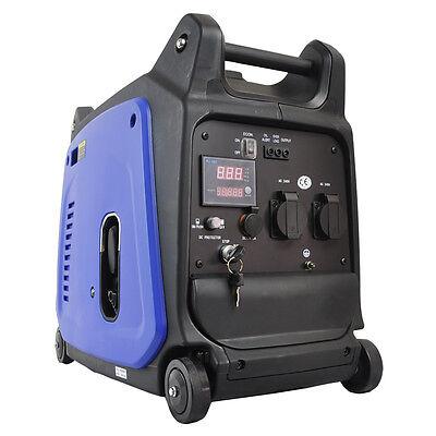 GENAMAX 2.3KVA Remote Inverter Generator Silent Portable Petrol Camping