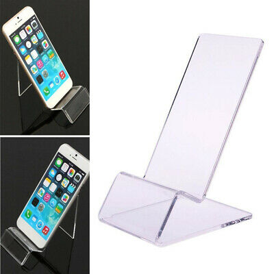 - 30PCS General Clear Acrylic Mount Holder Display Stand For Mobile Cell Phone Lot