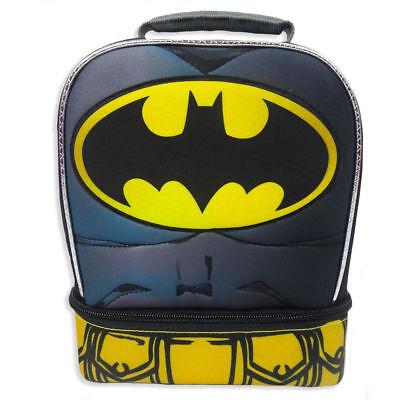 Batman Dual Compartment Lunch Bag with Detachable Cape 9