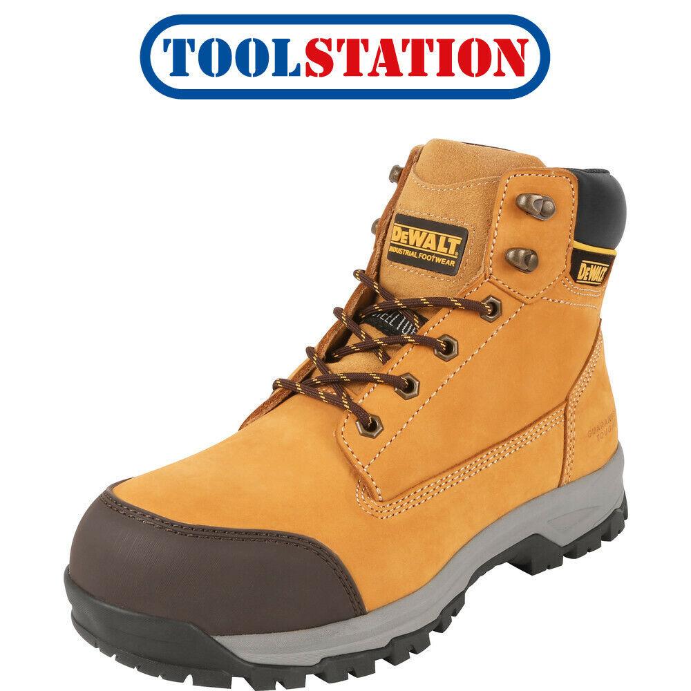 DeWalt Davis Safety Boots Honey Size 8