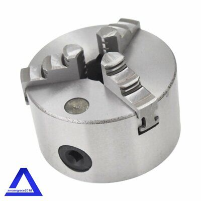 Hardened Steel Self-centering Lathe Chuck 3 Jaw 4 Inch 100mm For Milling K11-100
