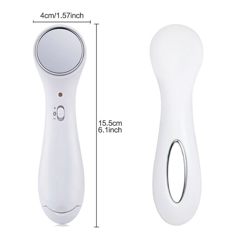 Ultrasound Electric Anti-aging Ion Face Lift Facial Beauty Device Skin Massager 4