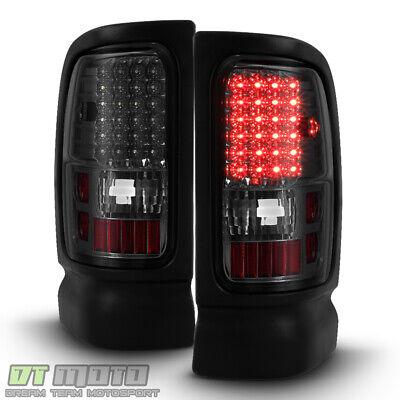 Smoke 1994-2001 Dodge Ram 1500 2500 3500 pickup LED Tail Lights Lamps Left+Right Dodge 1500 Pickup Tail Lamps