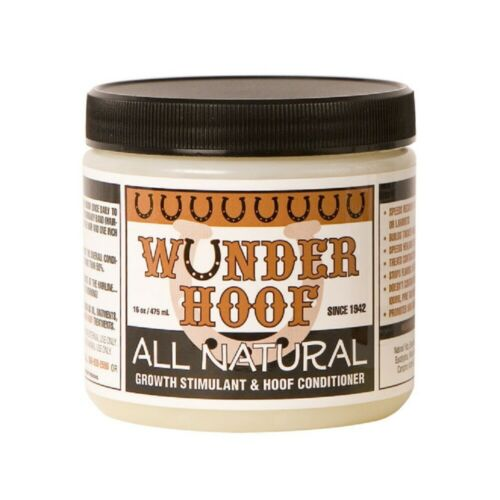 WUNDER HOOF All Natural Growth Stimulant & Hoof Conditioner 16 oz. Horse hooves