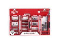 Milwaukee 48-32-4028 Shockwave Impact Duty Drill & Drive S(55-Piece) 2020