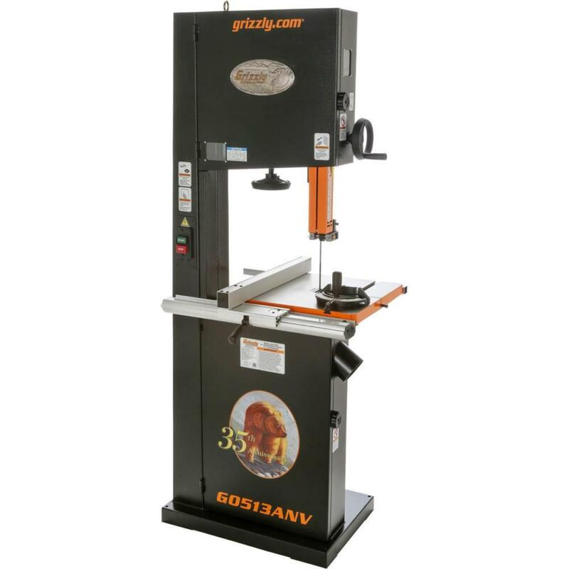 """Grizzly G0513ANV 17"""" 2 HP Bandsaw - 35th Anniversary Edition"""