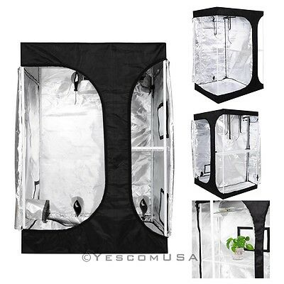2-in-1 100% Reflective Mylar Hydroponics Indoor Grow Tent Pr