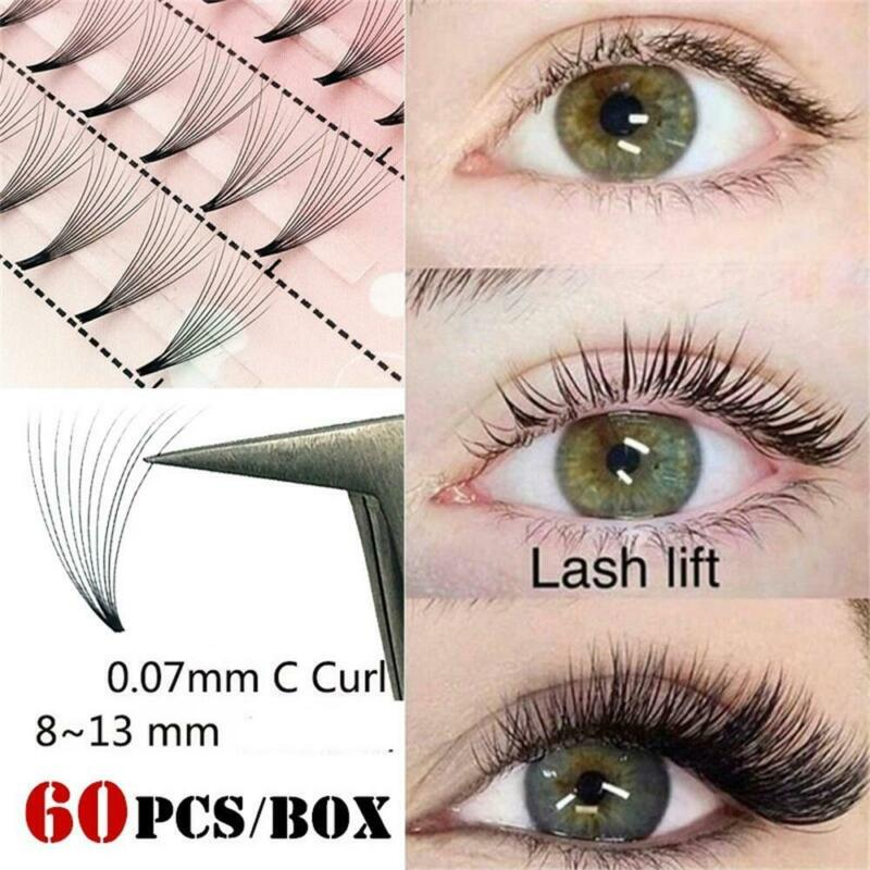60 Clusters 10D 0.07mm Thickness True Mink Strip Eyelashes I