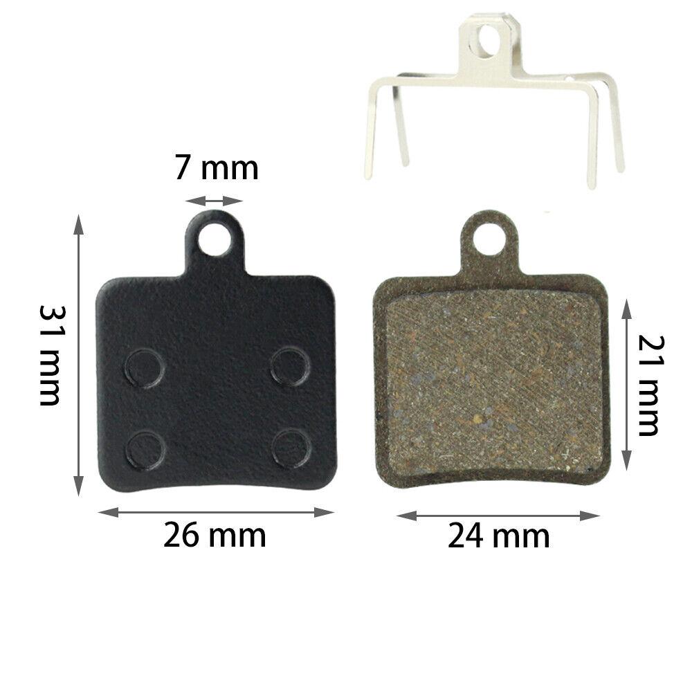 Hope Mini DB102 DB105 Enduro 2 Pot Semi Metal Resin Disc Brake Pads 2 Pairs